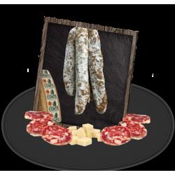 Saucisson au Comté - Fromagerie Maison Benoit - Vente de Produits Artisanaux en Franche Comté